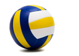 modern sport ball on a white background