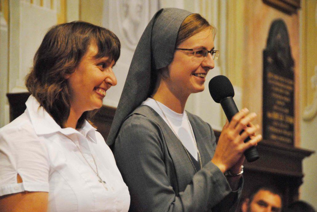 Sestry Alena Badačová a Jana Marková